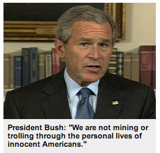 Bush lying again.
