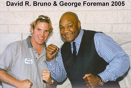 george foreman and some guy
