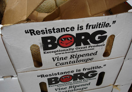 Resistance is fruitile.