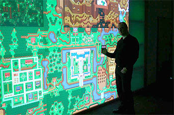 6 megapixel screen displays all of Zelda 3 map