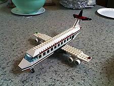 Lego Plane Thumb