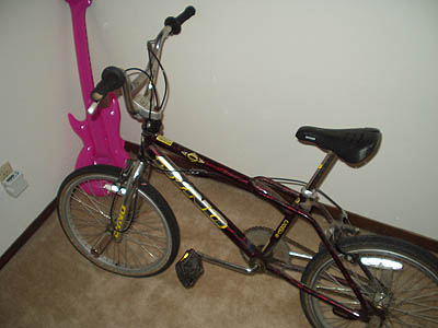 my new bmx bike (not really a fixie)